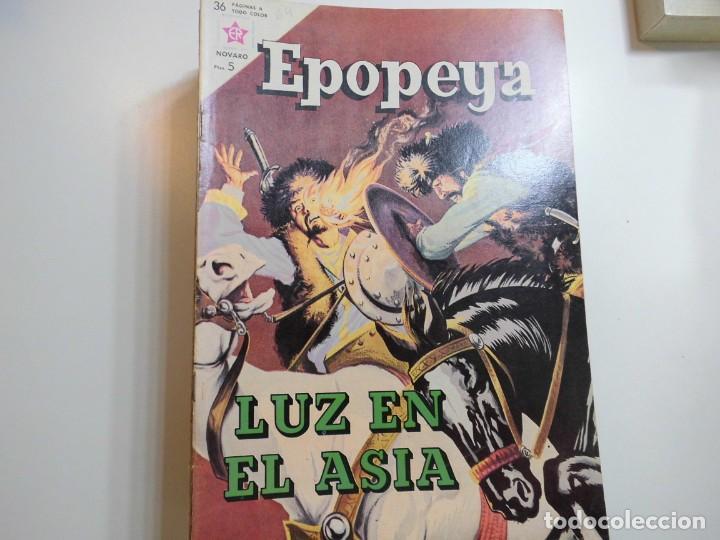 EPOPEYA Nº 64 HOVARO LUZ EN EL ASIA (Tebeos y Comics - Novaro - Epopeya)
