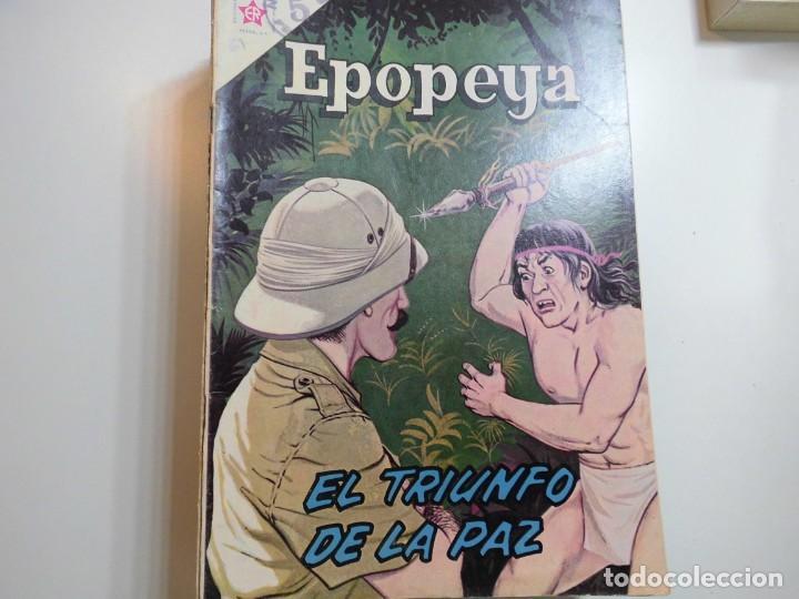 EPOPEYA Nº 61 NOVARO EL TRIUNFO DE LA PAZ (Tebeos y Comics - Novaro - Epopeya)