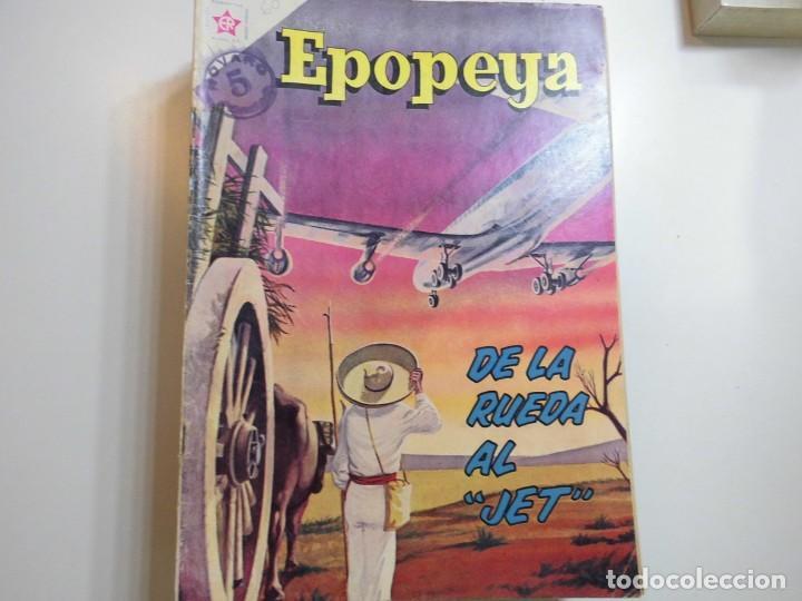 EPOPEYA Nº 60 NOVARO DE LA RUEDA AL JET (Tebeos y Comics - Novaro - Epopeya)