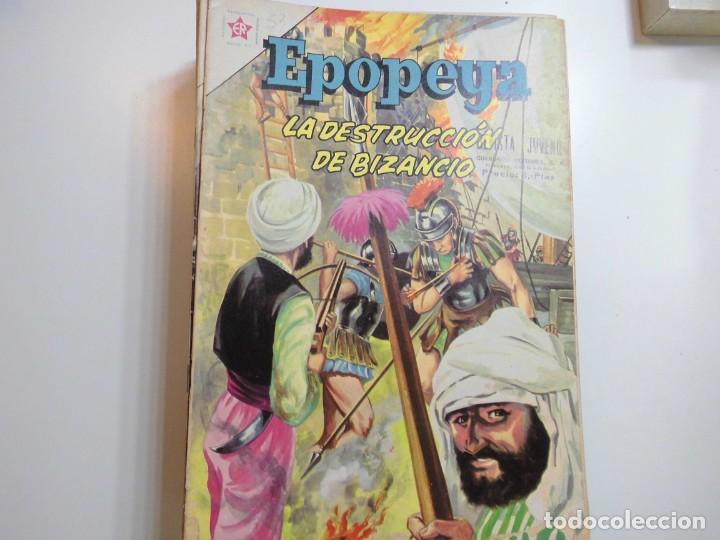 EPOPEYA Nº 53 NOVARO LA DESTRUCCION DE BIZANCIO (Tebeos y Comics - Novaro - Epopeya)