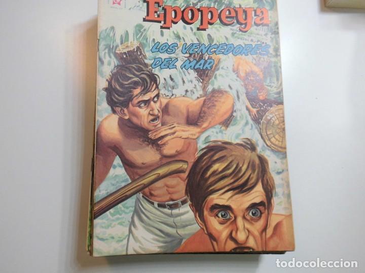 EPOPEYA Nº 49 NOVARO LOS VENCEDORES DEL MAR (Tebeos y Comics - Novaro - Epopeya)