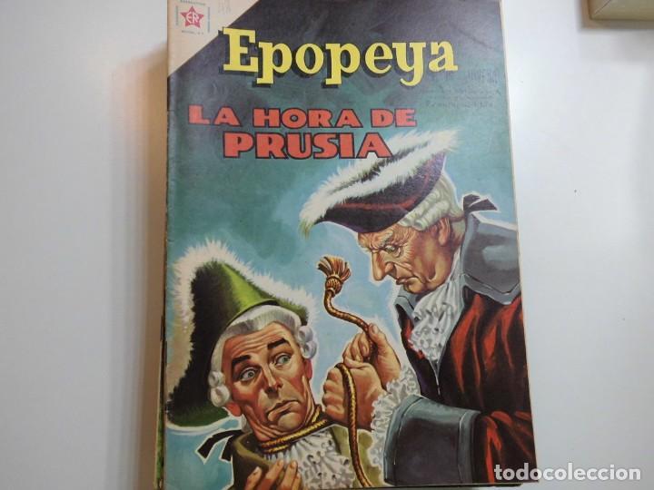 EPOPEYA Nº 48 NOVARO LA HORA DE PRUSIA (Tebeos y Comics - Novaro - Epopeya)