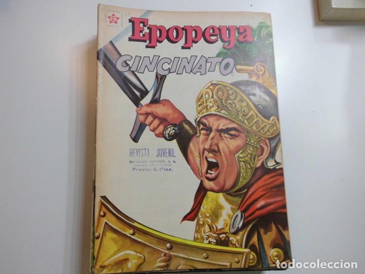 EPOPEYA Nº 47 NOVARO CINCINATO (Tebeos y Comics - Novaro - Epopeya)
