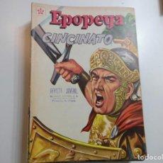 Tebeos: EPOPEYA Nº 47 NOVARO CINCINATO. Lote 221132570