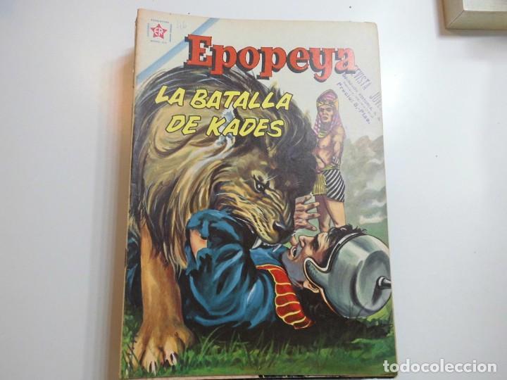 EPOPEYA Nº 46 NOVARO LA BATALLA DE KADES (Tebeos y Comics - Novaro - Epopeya)