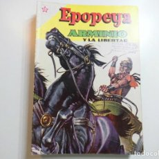 Tebeos: EPOPEYA Nº 41 NOVARO ARMINIO Y LA LIBERTAD. Lote 221133147