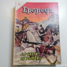 Tebeos: EPOPEYA Nº 38 NOVARO LA GESTA DE POITIERS. Lote 221133363