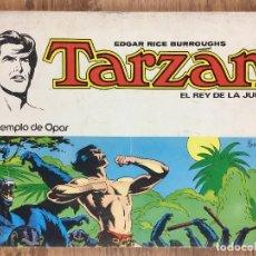 Tebeos: TARZÁN Nº 2 EL REY DE LA JUNGLA - EN EL TEMPLO DE OPAR- EDITORIAL NOVARO 1979. Lote 221360395