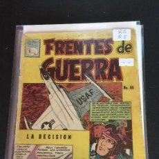BDs: LA PRENSA FRENTES DE GUERRA NUMERO 85 REGULAR ESTADO. Lote 221398475
