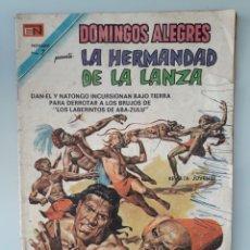 Giornalini: DOMINGOS ALEGRES LA HERMANDAD DE LA LANZA N 1010 NOVARO 1973. Lote 221527055