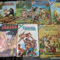 Tebeos: ORIGINAL LOTE DE 7 TARZAN EDITORIAL NOVARO AÑOS 70. Lote 221610560