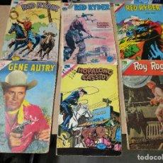 Giornalini: ORIGINAL LOTE DE 6 COMICS NOVARO AÑOS 60-70 GENE AUTRY-ROY ROGERS-CASSYDY. Lote 221610968