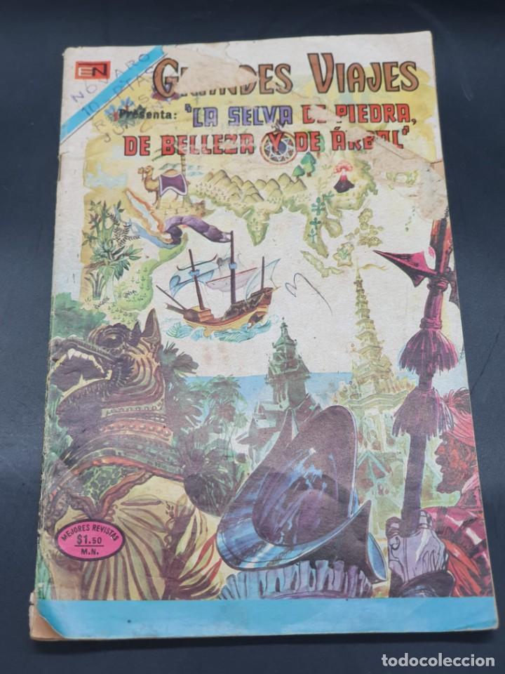 GRANDES VIAJES. LA SELVA DE PIEDRA, DE BELLEZA Y DE ARBOL. NOVARO (Tebeos y Comics - Novaro - Otros)