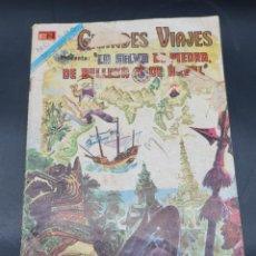 Tebeos: GRANDES VIAJES. LA SELVA DE PIEDRA, DE BELLEZA Y DE ARBOL. NOVARO. Lote 221653407