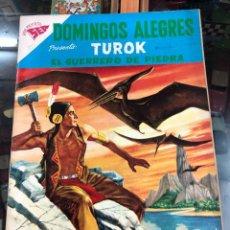 Tebeos: COMIC ORIGINAL NOVARO SERIE DOMINGOS ALEGRES Nº 251 Nº 2 TUROK EDITORIAL NOVARO BUEN ESTADO. Lote 221685341