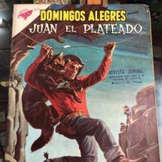 Tebeos: COMIC ORIGINAL NOVARO SERIE DOMINGOS ALEGRES Nº 304 JUAN PLATEADO. Lote 221685658