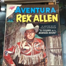 Tebeos: COMIC ORIGINAL NOVARO SERIE AVENTURA N 116 REX ALLEN. Lote 221686153