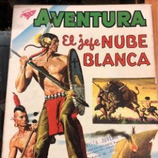 Tebeos: COMIC ORIGINAL NOVARO SERIE AVENTURA N 123 EL JEFE NUBE BLANCA. Lote 221686518