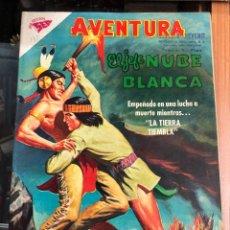 Tebeos: COMIC ORIGINAL NOVARO SERIE AVENTURA N 135 EL JEFE NUBE BLANCA. Lote 221686965