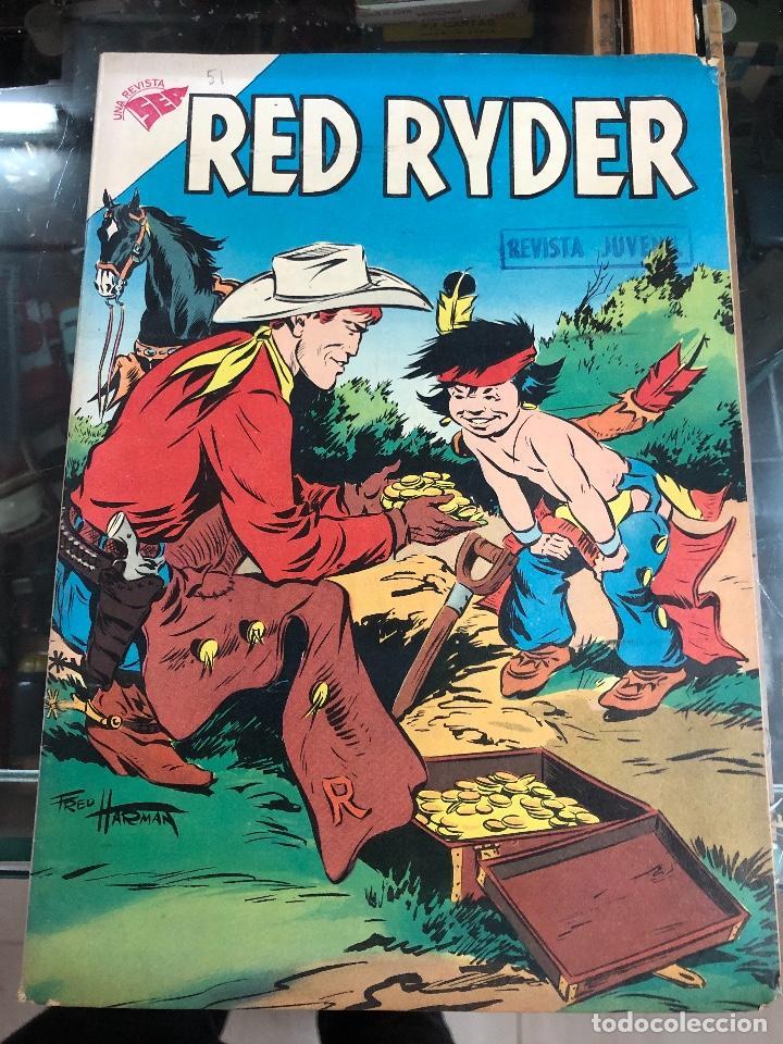 COMIC ORIGINAL NOVARO SERIE RED RYDER Nº 51 (Tebeos y Comics - Novaro - Red Ryder)