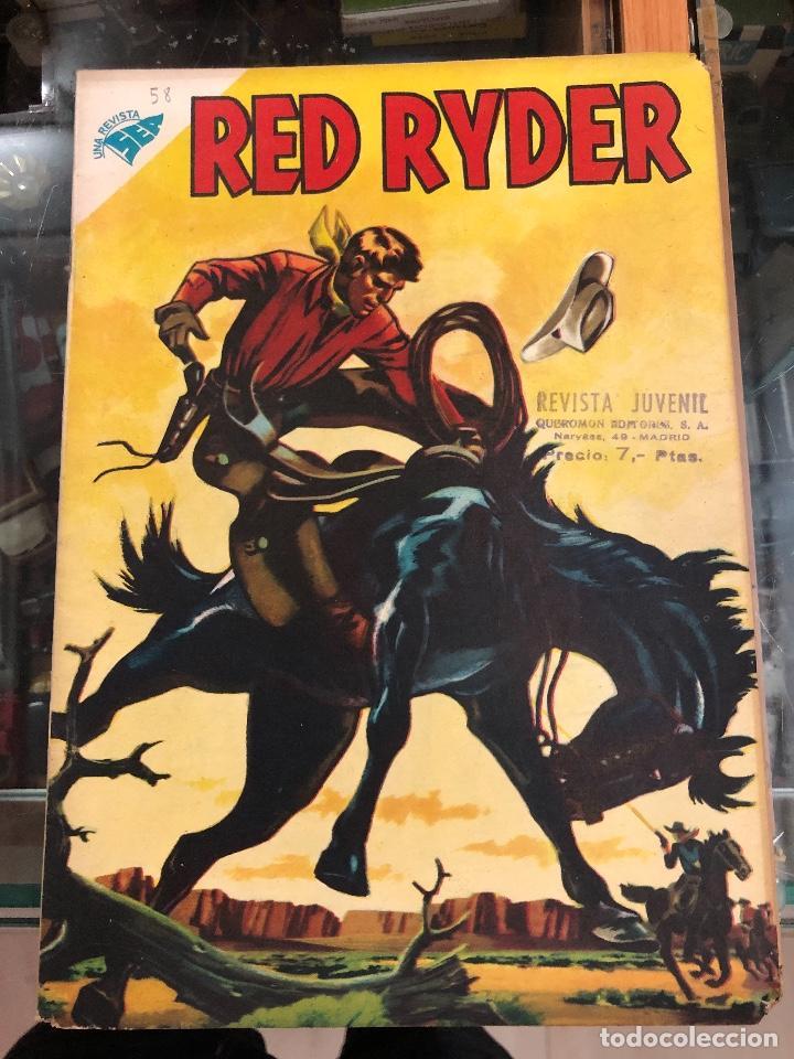 COMIC ORIGINAL NOVARO SERIE RED RYDER Nº 58 (Tebeos y Comics - Novaro - Red Ryder)