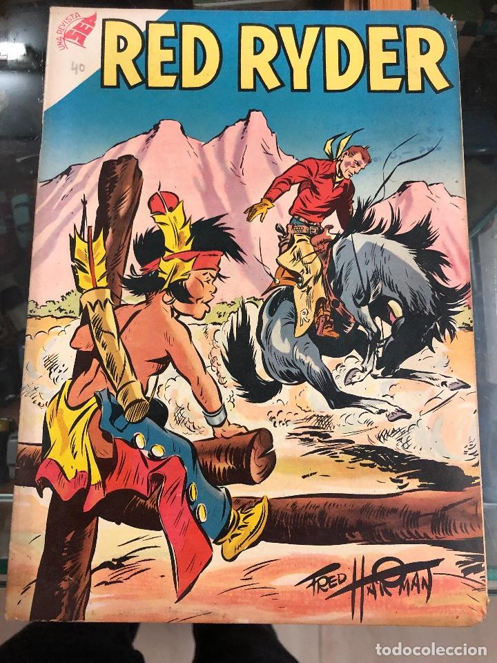 COMIC ORIGINAL NOVARO SERIE RED RYDER Nº 40 (Tebeos y Comics - Novaro - Red Ryder)