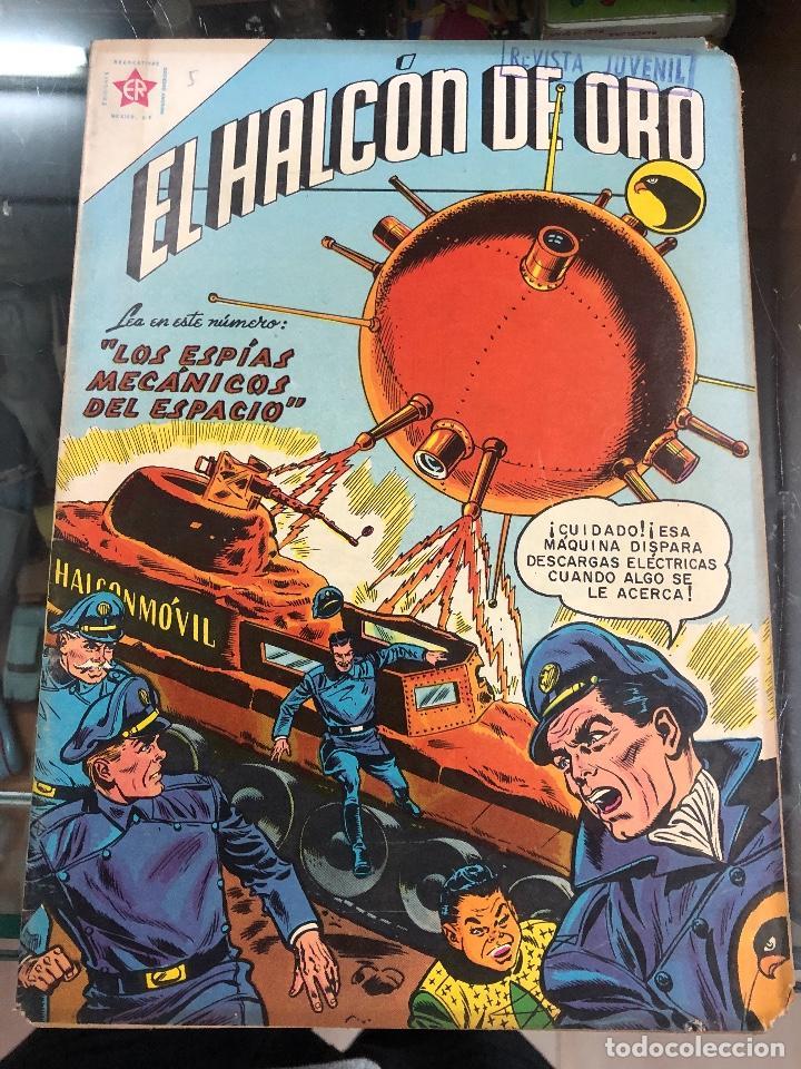 COMIC ORIGINAL NOVARO SERIE EL HALCON DE ORO Nº 5 (Tebeos y Comics - Novaro - Sci-Fi)