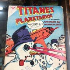 Giornalini: COMIC ORIGINAL NOVARO SERIE TITANES PLANETARIOS Nº 76. Lote 221691325