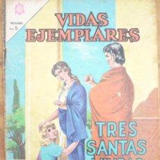 Tebeos: VIDAS EJEMPLARES - EDITORIAL NOVARO - LOTE 10 NÚMEROS. Lote 221723091