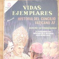 Tebeos: NOVARO - VIDAS EJEMPLARES HISTORIA DEL CONCILIO VATICANO Nº EXTRAORDINARIO. Lote 221725761