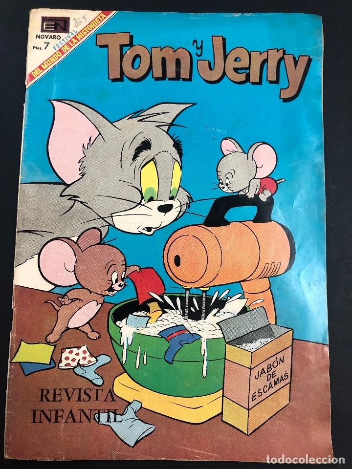 COMIC EDITORIAL NOVARO SERIE TOM Y JERRY Nº 265 (Tebeos y Comics - Novaro - Tom y Jerry)