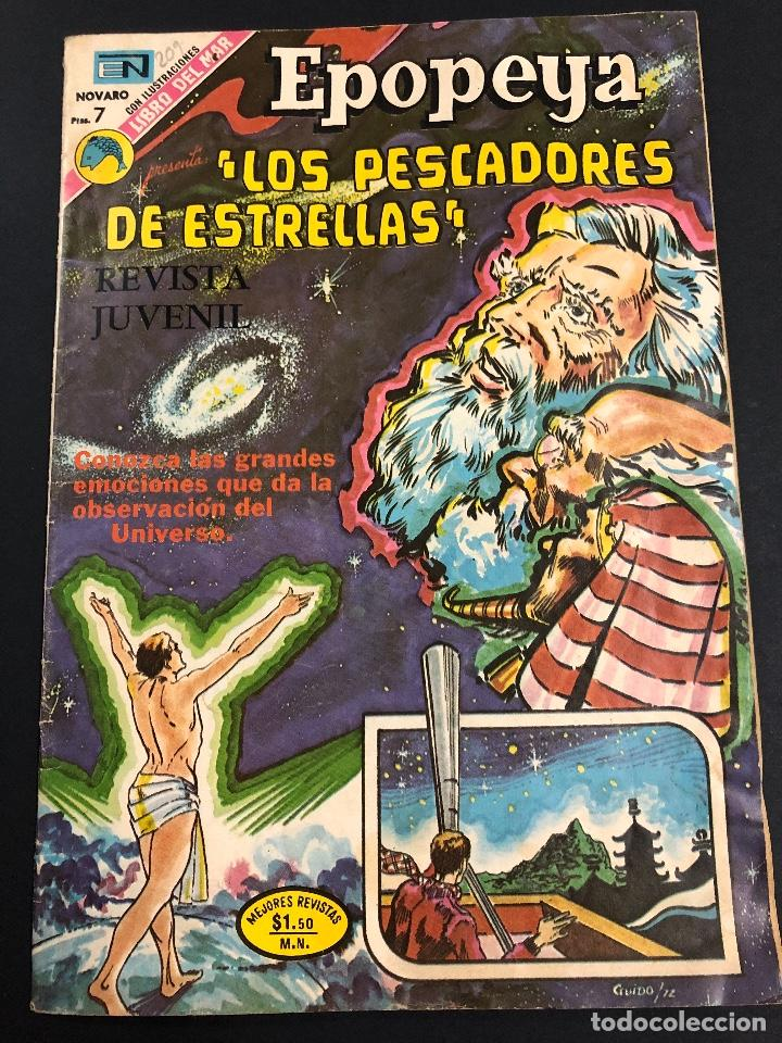 COMIC EDITORIAL NOVARO SERIE EPOPEYA Nº 209 (Tebeos y Comics - Novaro - Epopeya)