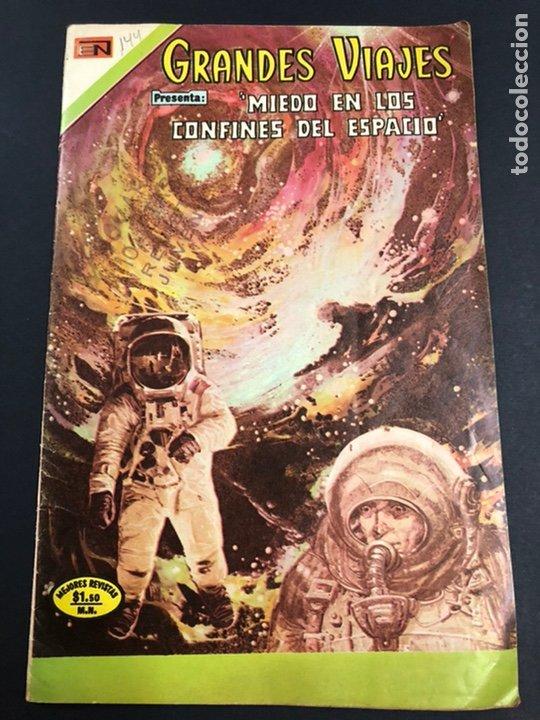 COMIC EDITORIAL NOVARO SERIE GRANDES VIAJES Nº 144 (Tebeos y Comics - Novaro - Grandes Viajes)