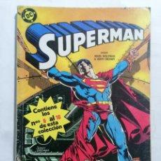 Tebeos: SUPERMAN, CONTIENE LOS Nº 6 AL 10. Lote 221791081