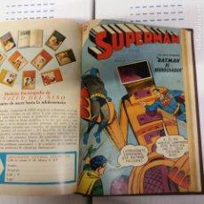 Tebeos: SUPERMAN TOMO CON 21 EJEMPLARES NOVARO. Lote 221808400