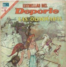 Tebeos: ESTRELLAS DEL DEPORTE NOVARO LAS OLIMPIADAS 1ª PARTE Nº 26. Lote 221929056