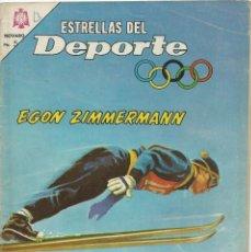 Tebeos: ESTRELLAS DEL DEPORTE NOVARO EGON ZIMMERMANN Nº13. Lote 221929202