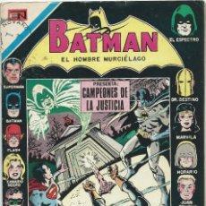 Tebeos: BATMAN Nº 611 NOVARO. Lote 221932322