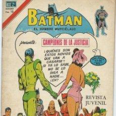 Tebeos: BATMAN Nº 2-838 SERIE AGUILA NOVARO. Lote 221932708