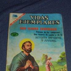 Tebeos: (M23) VIDAS EJEMPLATES - SAN ISIDRO LABRADOR, NOVARO N. 337, SEÑALES DE USO NORMALES. Lote 222043155