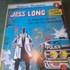 Tebeos: JESS LONG: EL BUDA ESCARLATA / LOS NUEVOS NEGREROS. COL. HISTORIAS FANTÁSTICAS Nº 1. NOVARO 1978. Lote 222114925