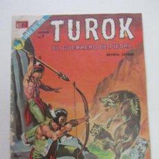 Tebeos: TUROK EL GUERRERO DE PIEDRA Nº 53 NOVARO CX74. Lote 222116963