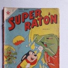 Tebeos: EL SUPER RATÓN Nª 35 - ORIGINAL EDITORIAL NOVARO. Lote 222144093