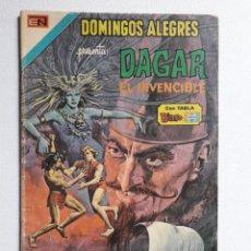 Tebeos: DOMINGOS ALEGRES Nº 1077 - DAGAR EL INVENCIBLE! - ORIGINAL EDITORIAL NOVARO. Lote 222144361