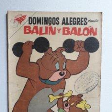 Tebeos: DOMINGOS ALEGRES Nº 208 - BALÍN Y BALÓN - ORIGINAL EDITORIAL NOVARO. Lote 222158843