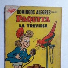 Tebeos: DOMINGOS ALEGRES Nº 179 - PAQUITA LA TRAVIESA - ORIGINAL EDITORIAL NOVARO. Lote 222159140
