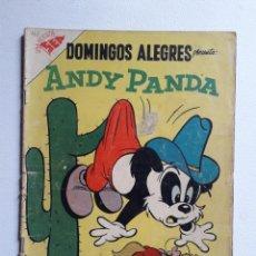 Tebeos: DOMINGOS ALEGRES Nº 167 (RARO EJEMPLAR) - ANDY PANDA! - ORIGINAL EDITORIAL NOVARO. Lote 222159356