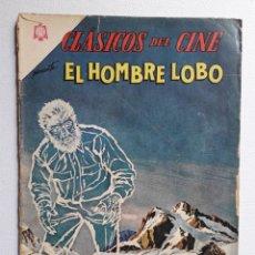 Tebeos: CLÁSICOS DEL CINE Nº 117 - EL HOMBRE LOBO - ORIGINAL EDITORIAL NOVARO. Lote 222202431