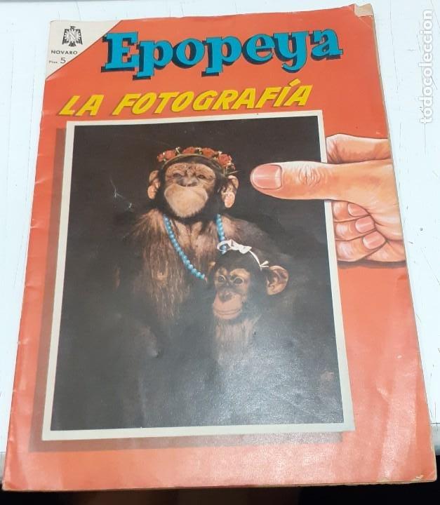 EPOPEYA Nº 83 - LA FOTOGRAFIA - NOVARO 1965 (Tebeos y Comics - Novaro - Epopeya)