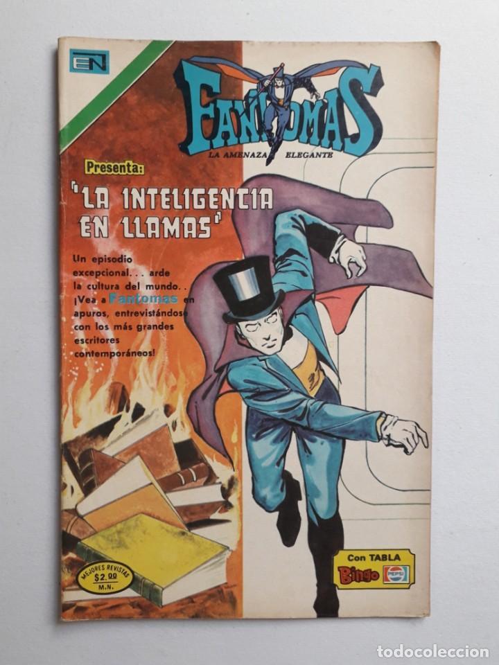FANTOMAS Nº 201 - ORIGINAL EDITORIAL NOVARO (Tebeos y Comics - Novaro - Otros)
